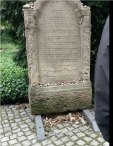 The old Jewish Cemetery on Groβe Hamburger Straβe. It was desecrated by the Nazis. Photo by Amber Kalb.