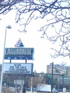 Ladmark Mall sign